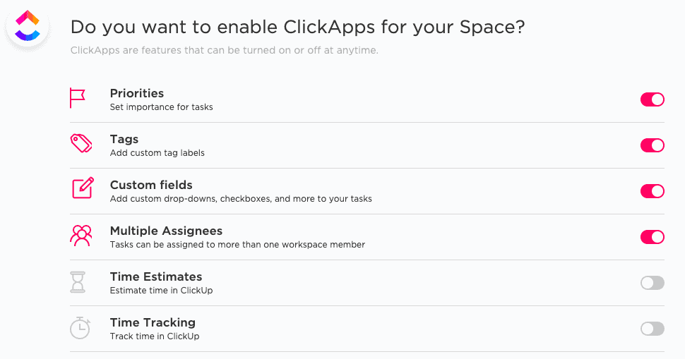ClickApps to enable