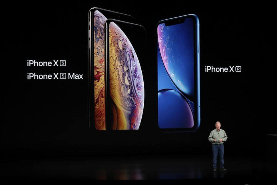 iPhone Xs iPhone Xs Max iPhone Xr announcement