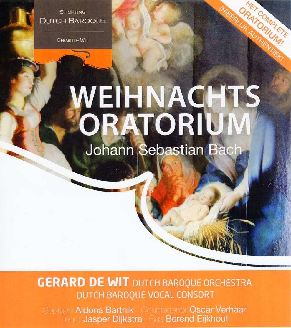 Weihnachtsoratorium Stichting Dutch Baroque