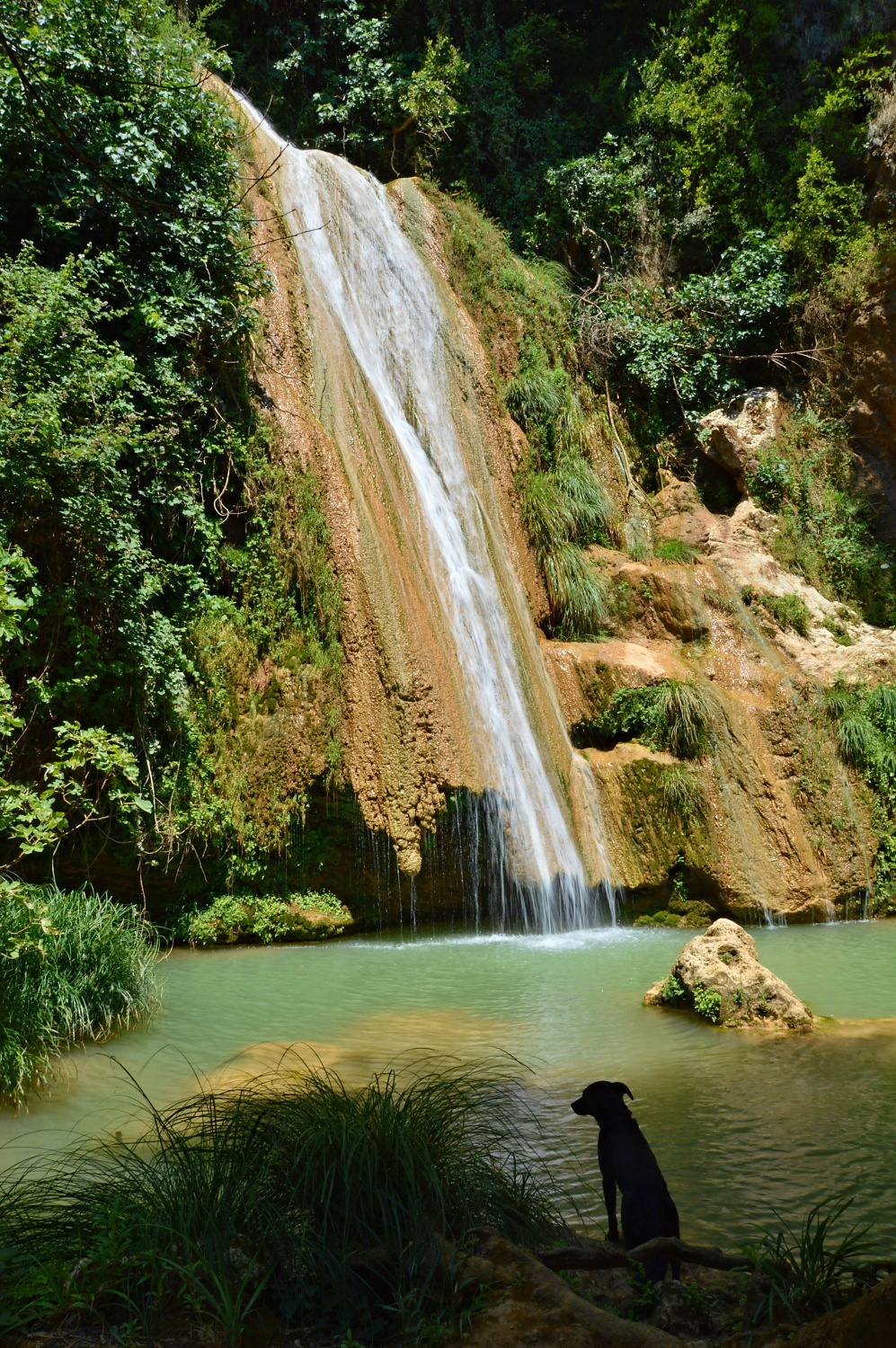 Kalamaris Waterfall, Messinia, Greeec1