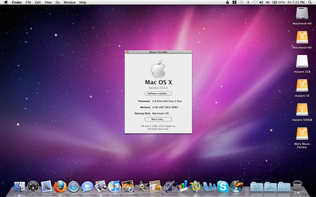 If are you looking for Mac OS X Snow Leopard 10.6 ISO and DMG file free