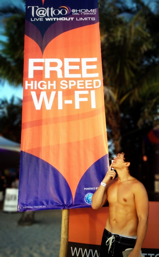 Free HIGH SPEED WI-FI at the #LiveTattoo Lounge at Epic Boracay!