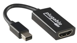 Screenshot display adapter from pluggable