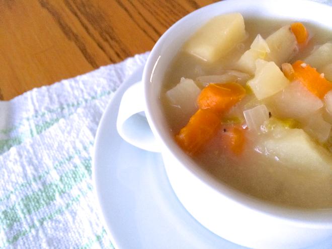 Crock Pot Potato Soup (Gluten-Free Dairy-Free)
