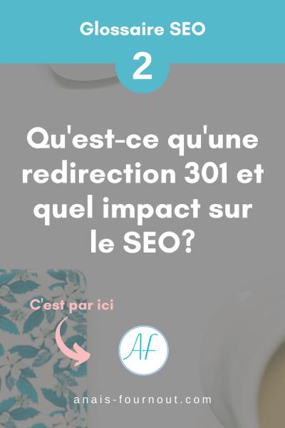 redirection 301 en référencement naturel seo