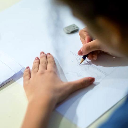 Une image de l'activité Deviens mangaka! organisée par Apprends et Rêve, activités pour enfants et ados à Paris