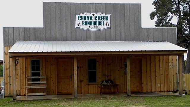 Cedar Creek Bunkhouse