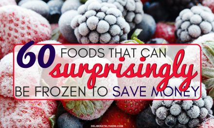 60 Surprising Foods That Can be Frozen to Save Money