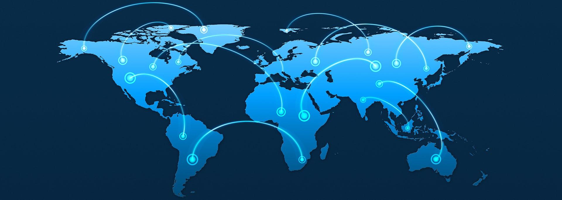 Dedicated Internet Access, Carrier Ethernet Services, MPLS, SD-WAN, VPN, International VPLS