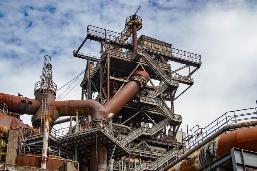 blast furnace photo