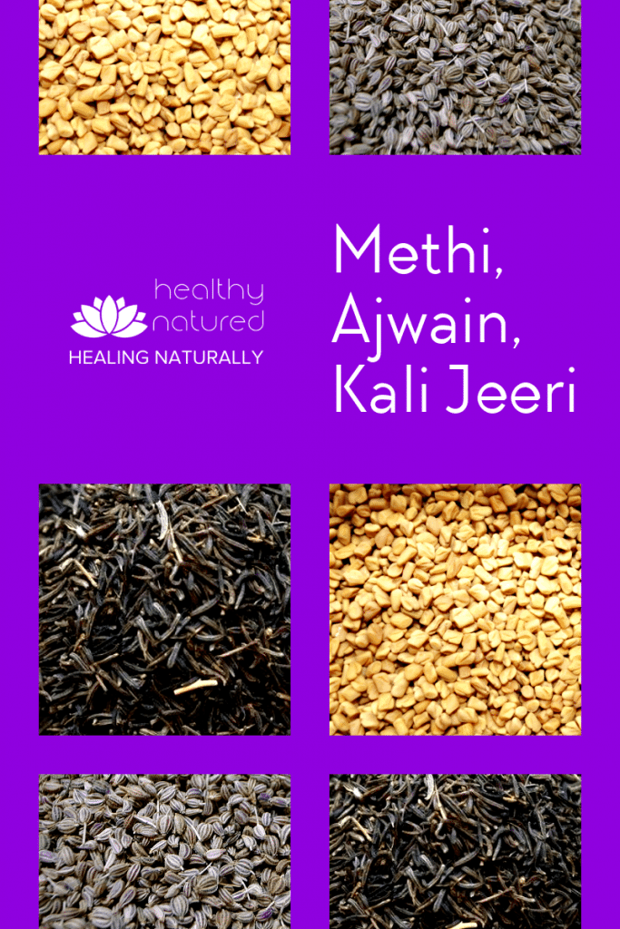 Methi Ajwain Kali Jeeri Powder - N.o.1 Best Belly Fat Burning Food.