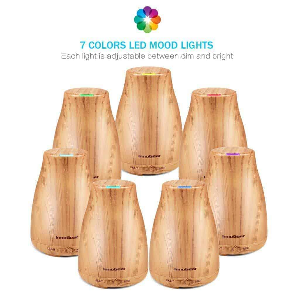 Innogear Aromatherapy Cool Mist Essential Oil Diffuser (Home Based Healing)