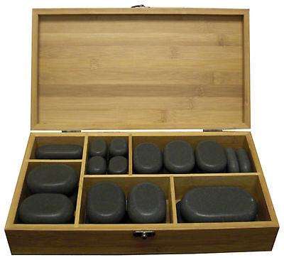 Hot Stone Massage Kit 45 Pcs Beauty Dayspa, Parlor And Natural Medicine