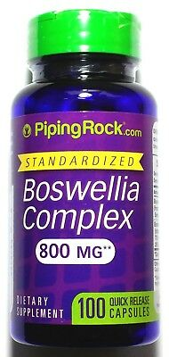 100 Capsules Boswellia Serrata 800Mg Complex 600Mg 4:1 Extract Joint Health Pill