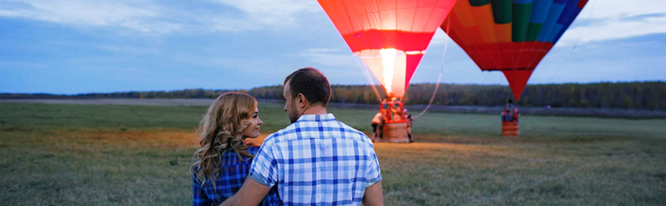 Hot air balloon rides Hunter Valley