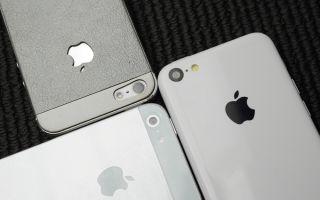 Сравнение смартфонов Apple последнего поколения: iPhone 5, 5s, 5c.