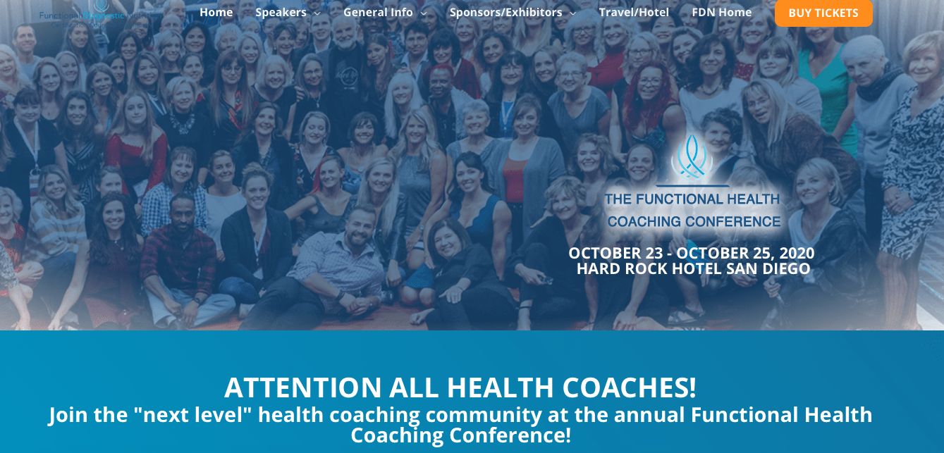 Functional Health Coach Conferenc