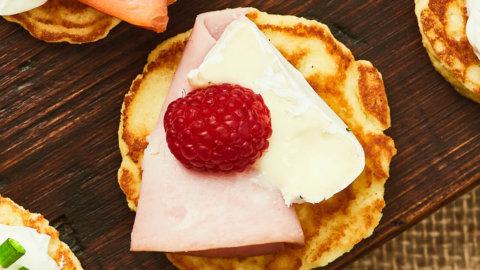 Ham Blini Recipe