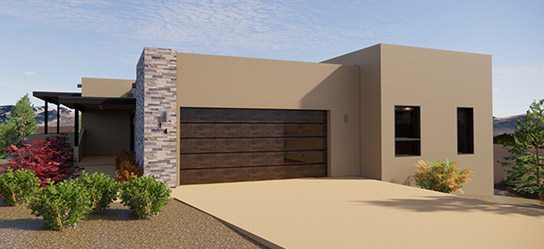 2-ValverdePlanD-SantaFe-1_0003_Background_0003_PRE-PROMO-2-Arete-Homes-Valverde-Sunset-Plan-B-Front-Exterior