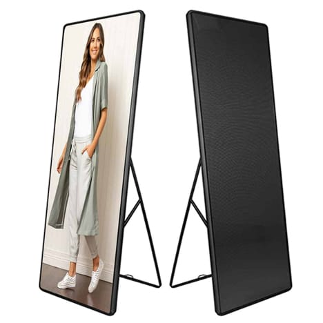 p2.5 scaled up จอled display jled digital advertising stand