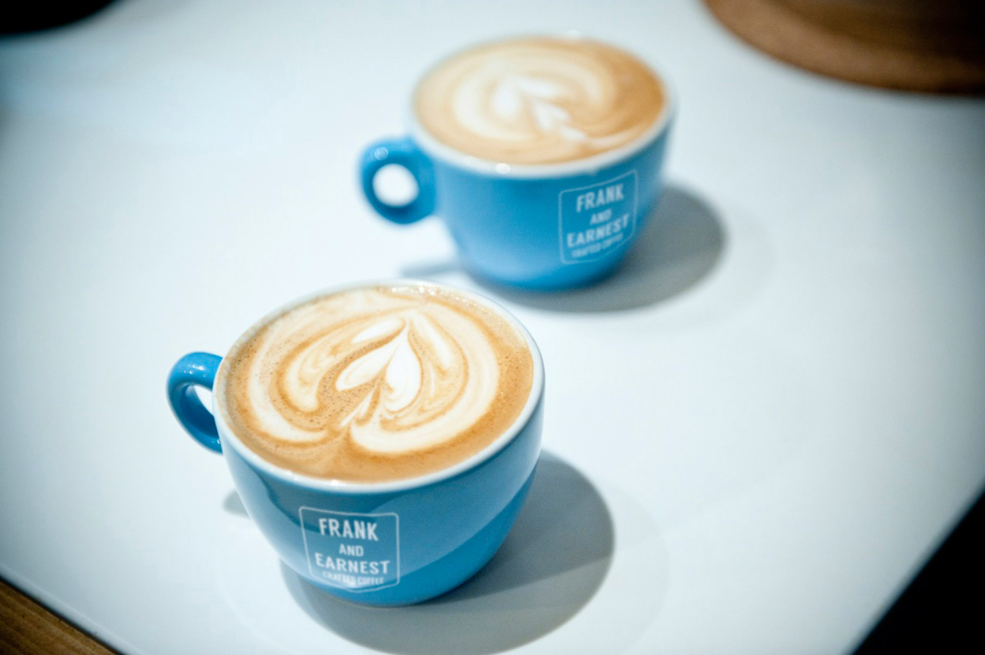Frank & Earnest crafted coffee cups