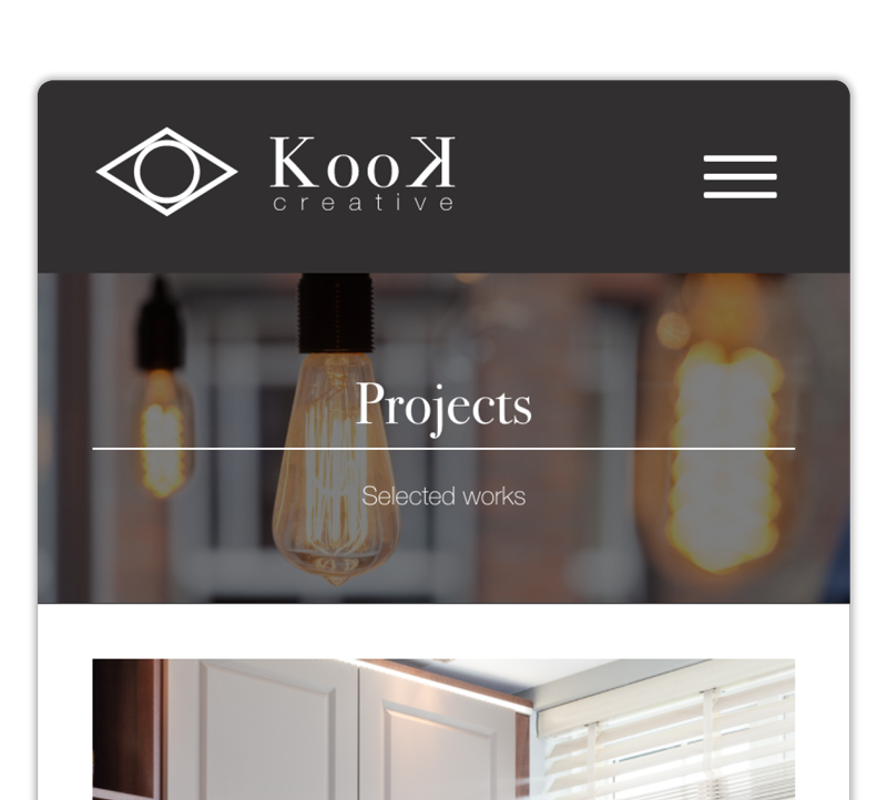 Kook Creative Projects Page