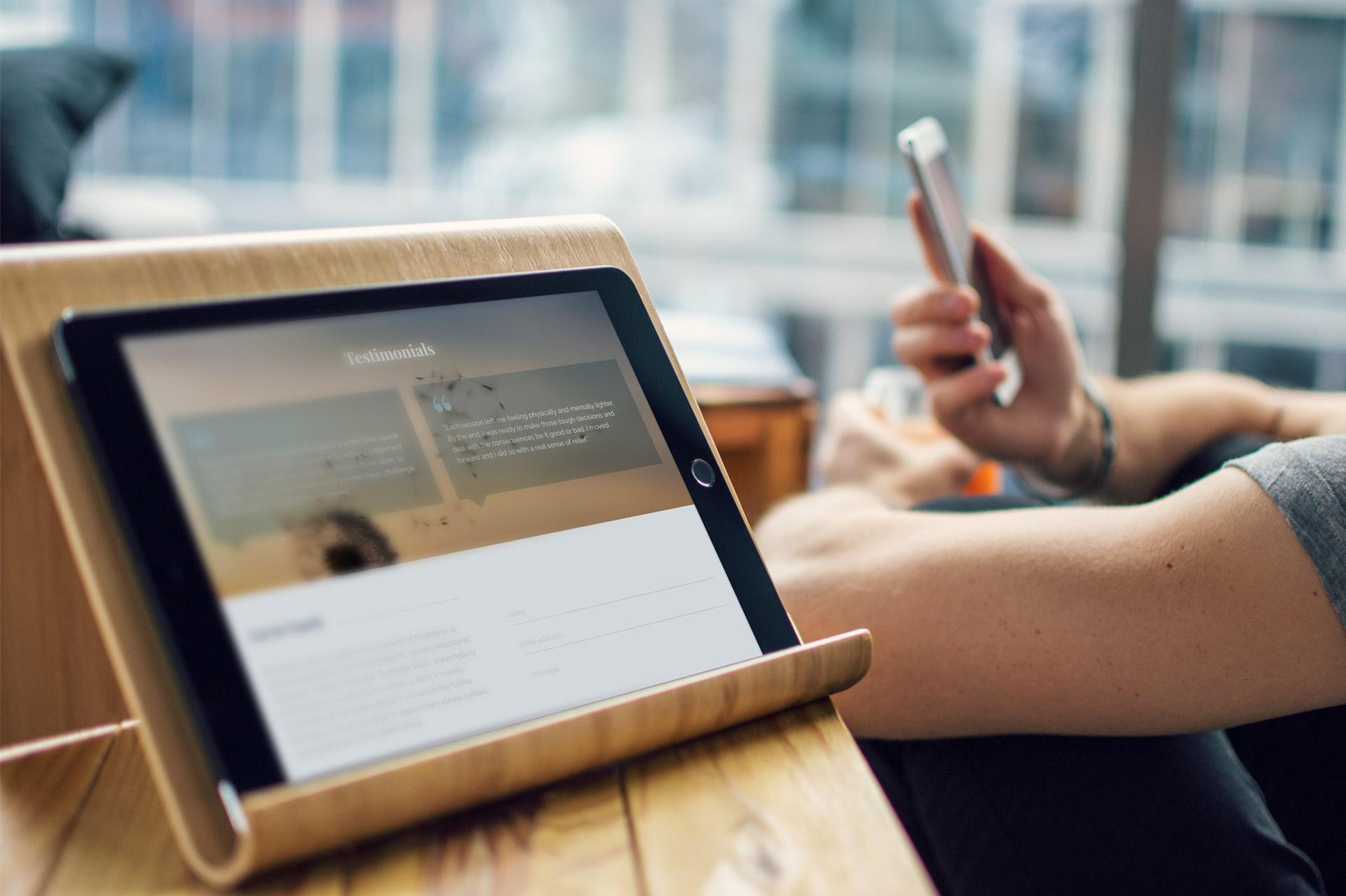 Clarity iPad