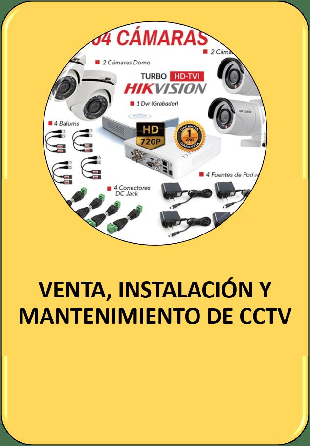 Instalación CCTV