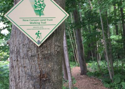 Trail Signs Guide the Way