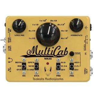 New Pedals: Tsakalis MultiCab MK3 Amp and Cab Emulation