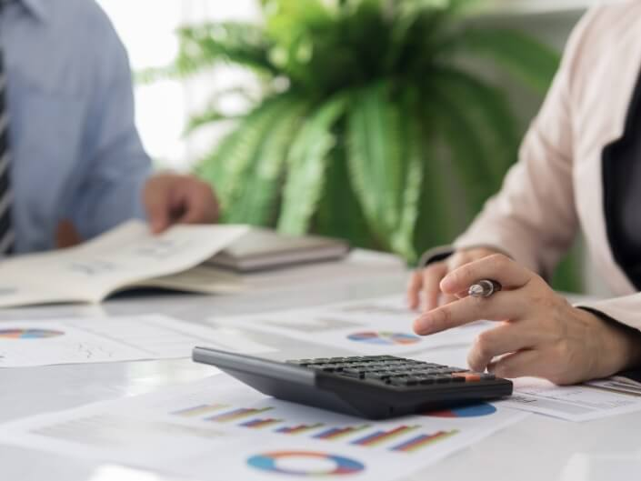 example of accountant doing an external financial audit