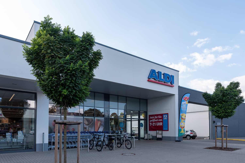 Halver Fachmarktzentrum ALDI Projektentwickler Deutschland
