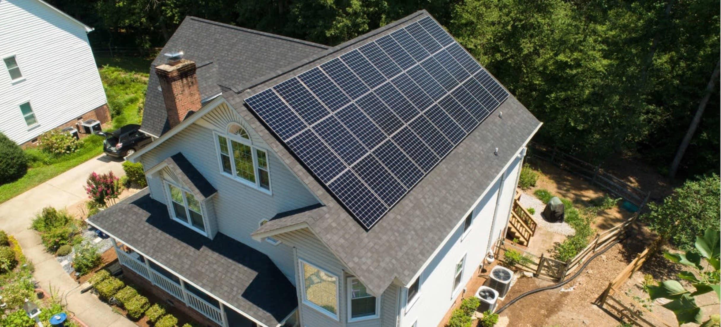 NC Solar Now PV Install