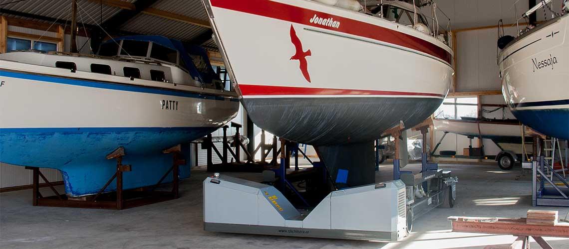 hydraulische-boottransporter