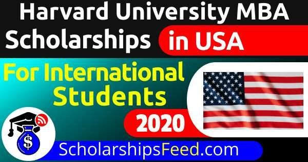Harvard University MBA Scholarship 2021 (Fully Funded)