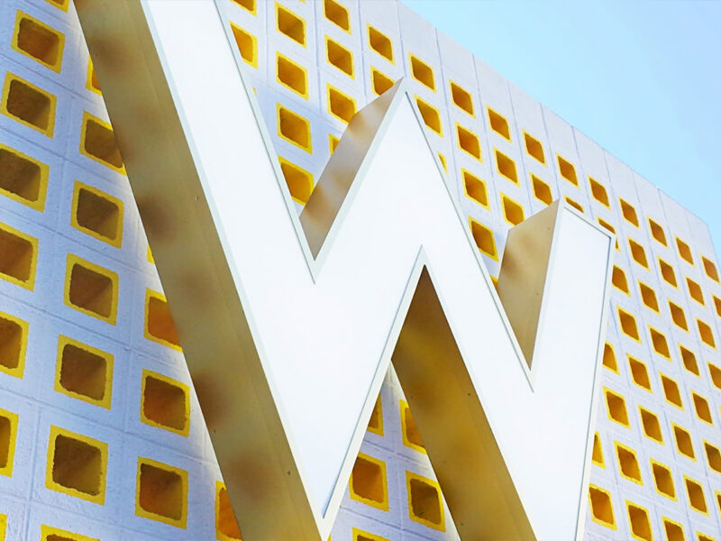 W Hotel Design of The Angle