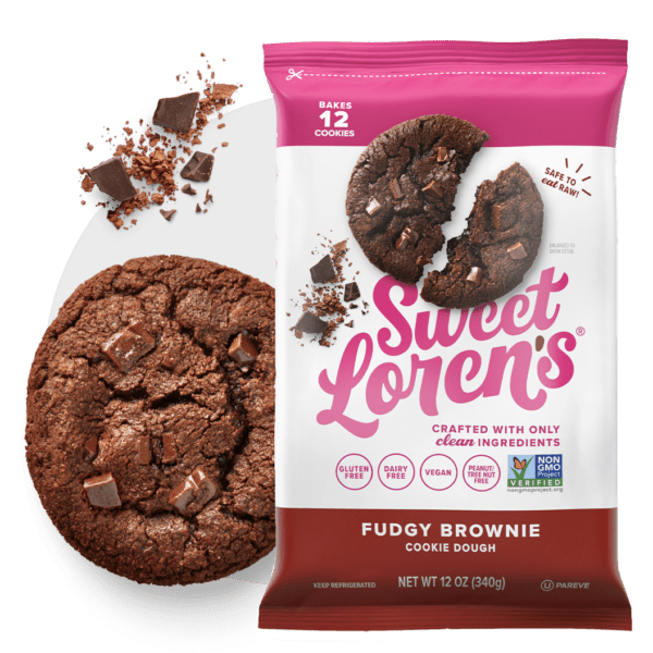 NEW PDP Fudgy Cookie Dough Brownie Hero