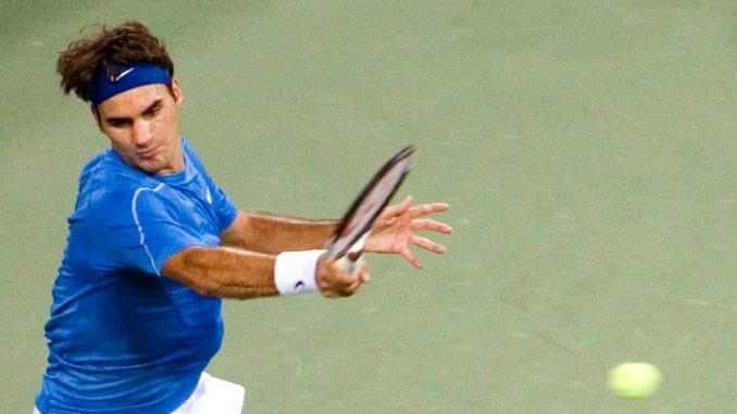 Will Roger Federer win his second title of the year?