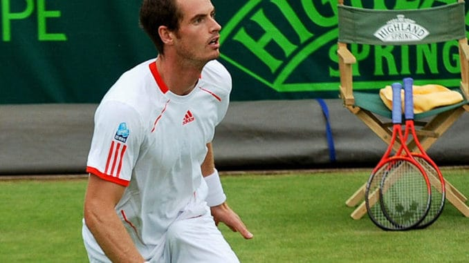 Andy Murray v James Ward live streaming
