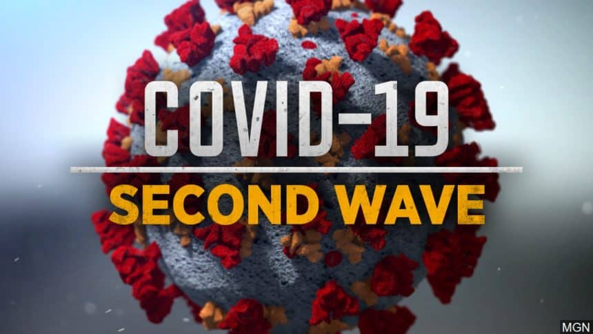 image of covid-19 second wave header
