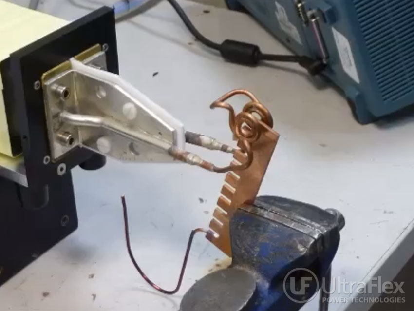 induction brazing copper wires