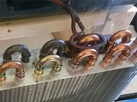 Brazing Heat Exchanger Tubes with Induction