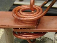 Brazing Copper and Brass Lap Joints with Induction