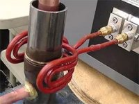 Brazing Two Steel Tubes with Induction