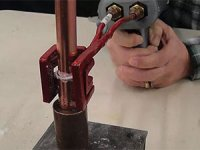 Handheld Brazing of Copper Tubing and Fitting with UBraze
