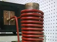 Induction Heating Mesh Tube for Plasma Research