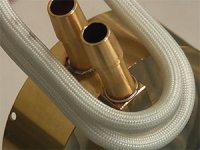 Soldering Brass Tubes to Brass Assembly with Induction