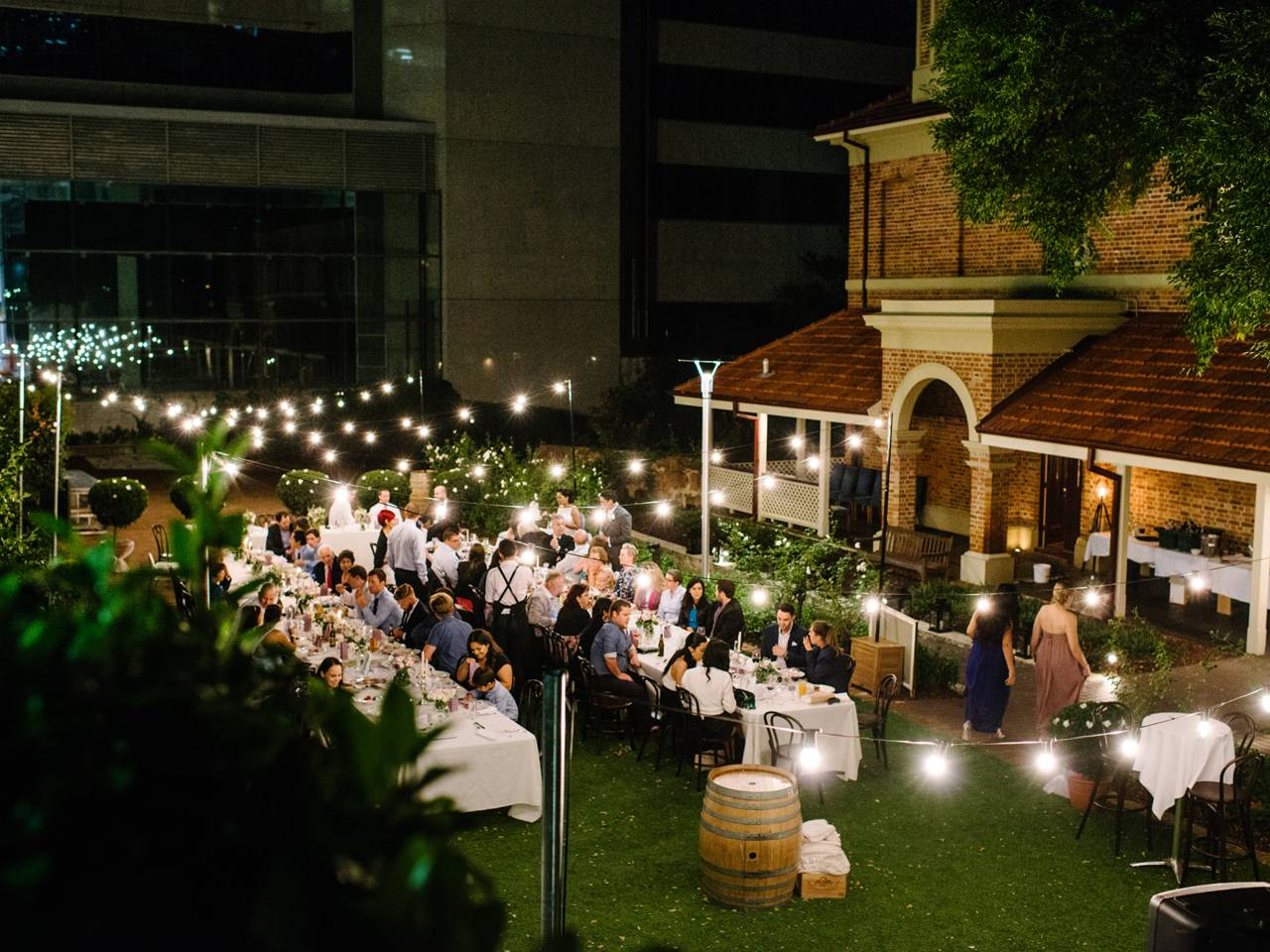 Perth garden wedding