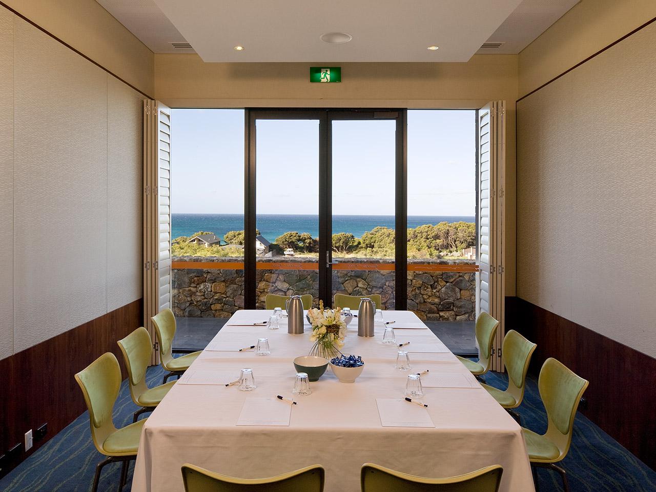 Meeting Room With Ocean View