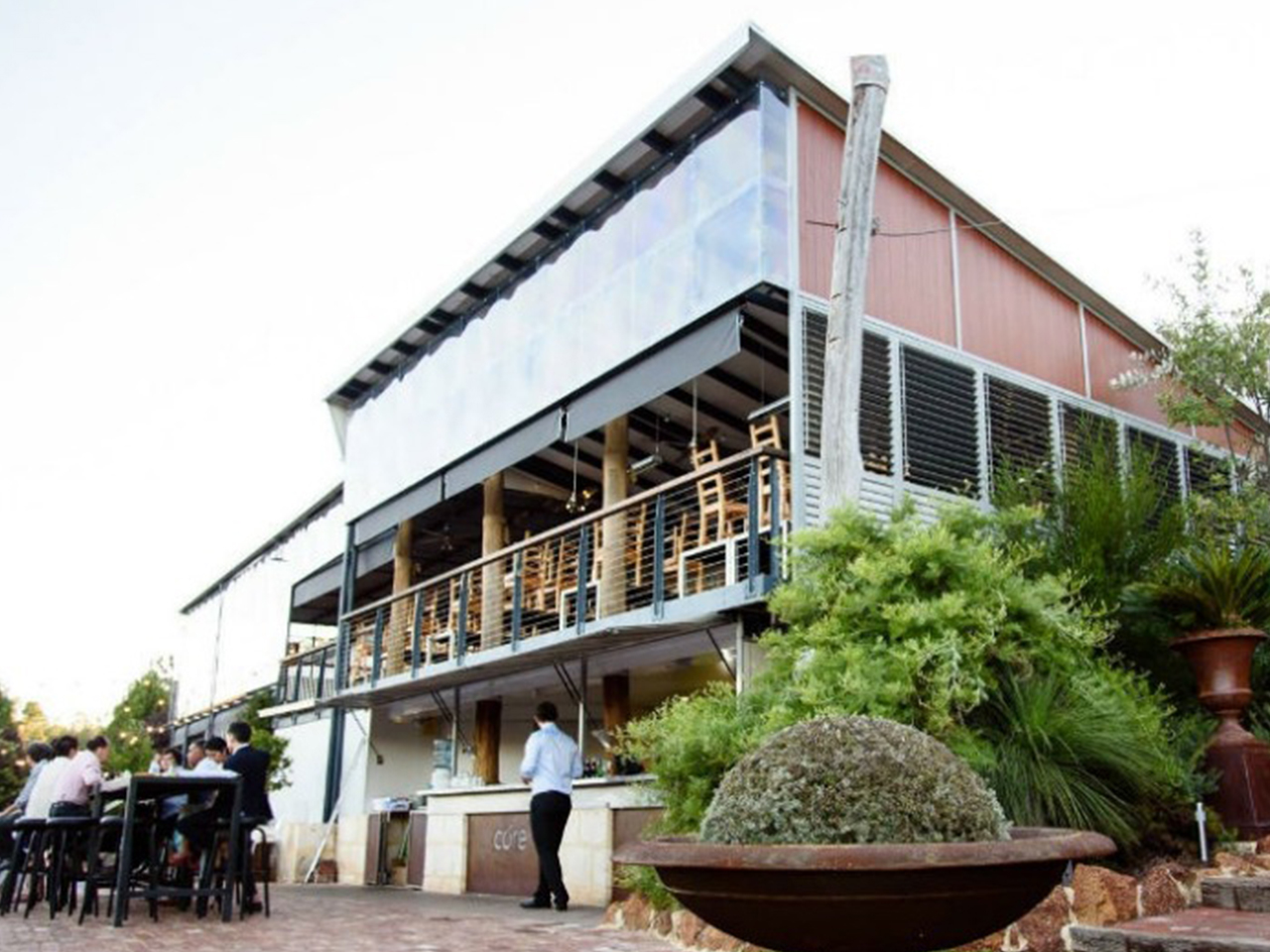 View of the Perth Hills Venue